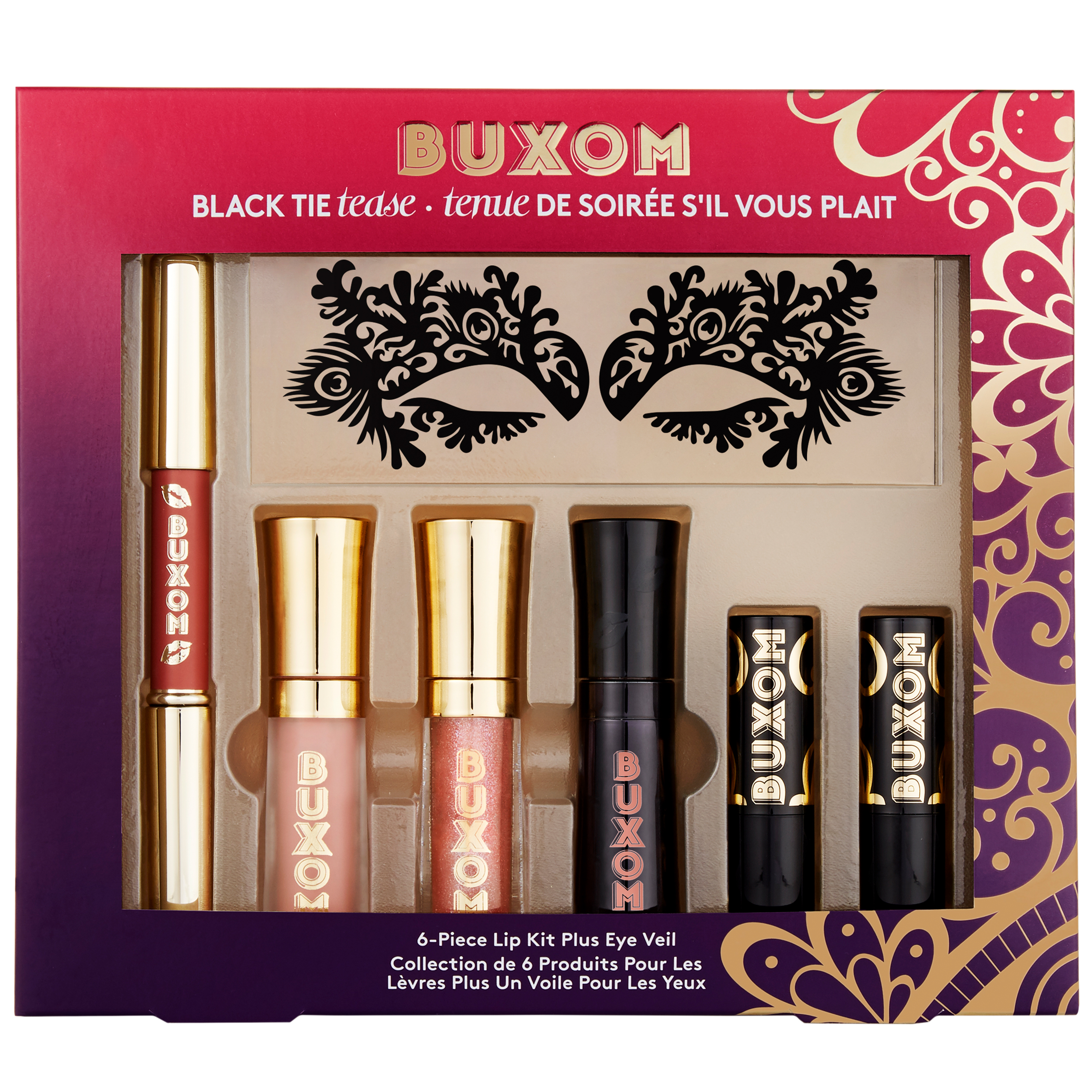 Black Tie Tease 6-Piece Makeup Giftbox