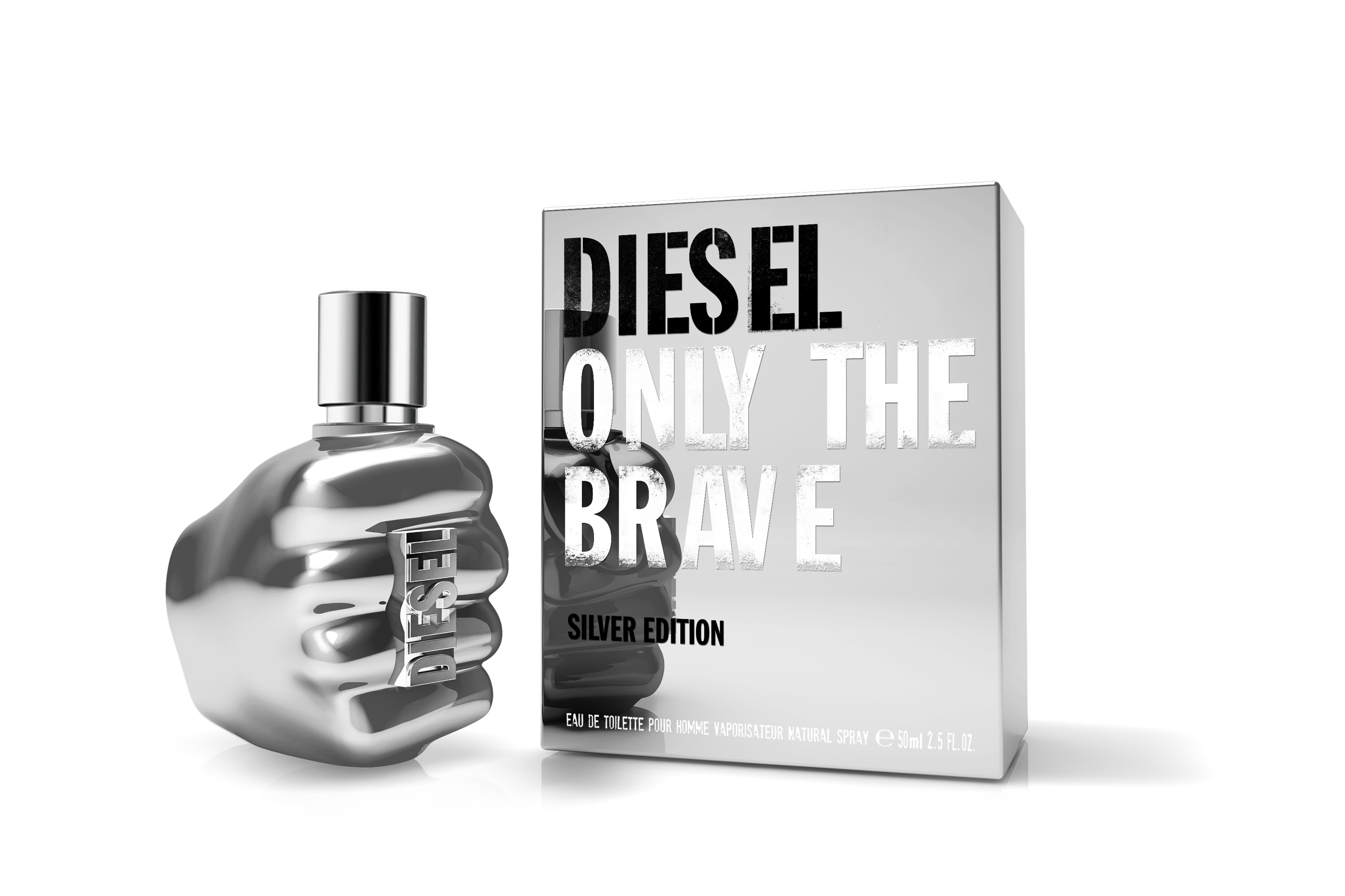 Only the Brave Silver Edt 50 ml
