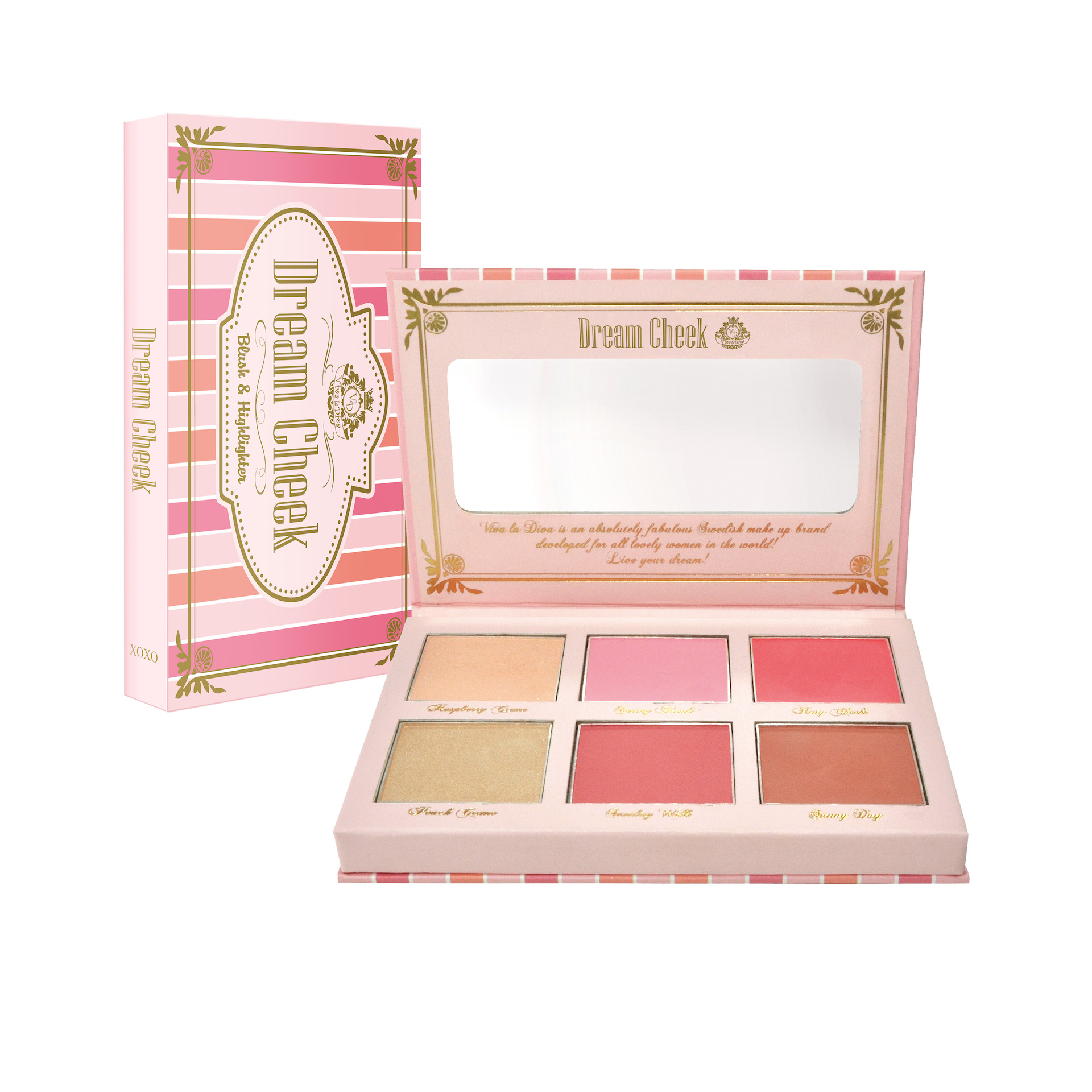 Dream Cheek Blush Palette