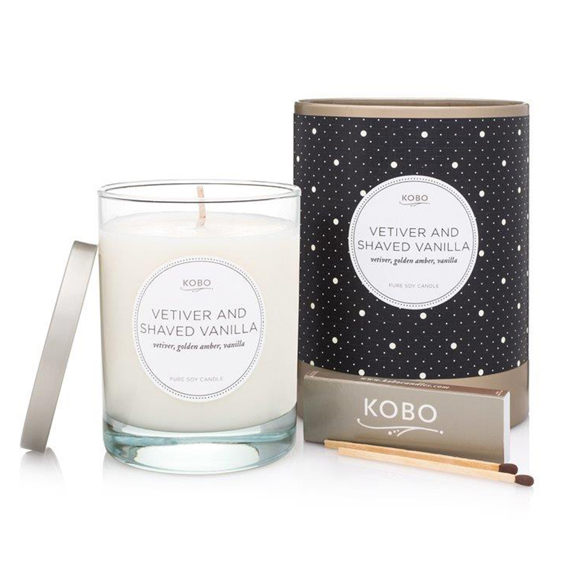 Coterie Collection Vetiver and Shaved Vanilla Candle